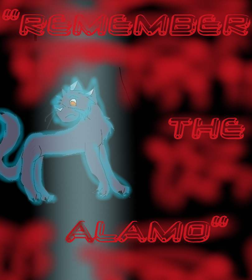 Remember the Alamo-drawn as a cats by icestorm