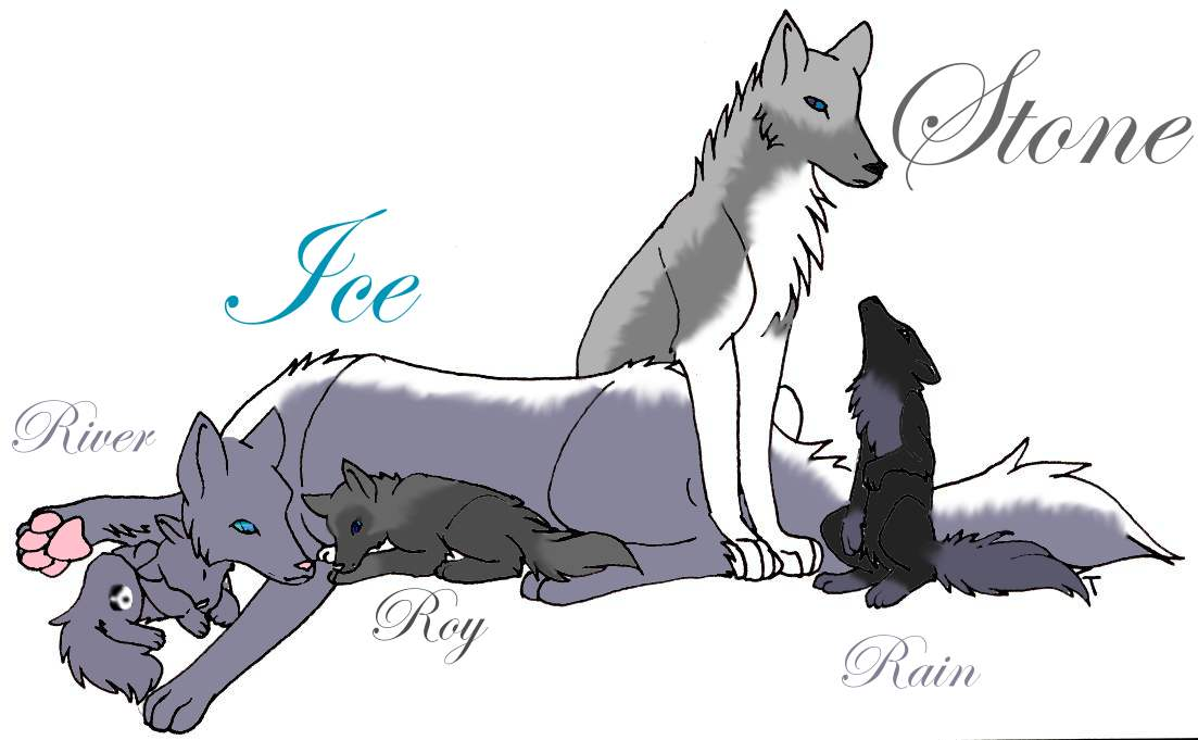 Ice and her family by icestorm