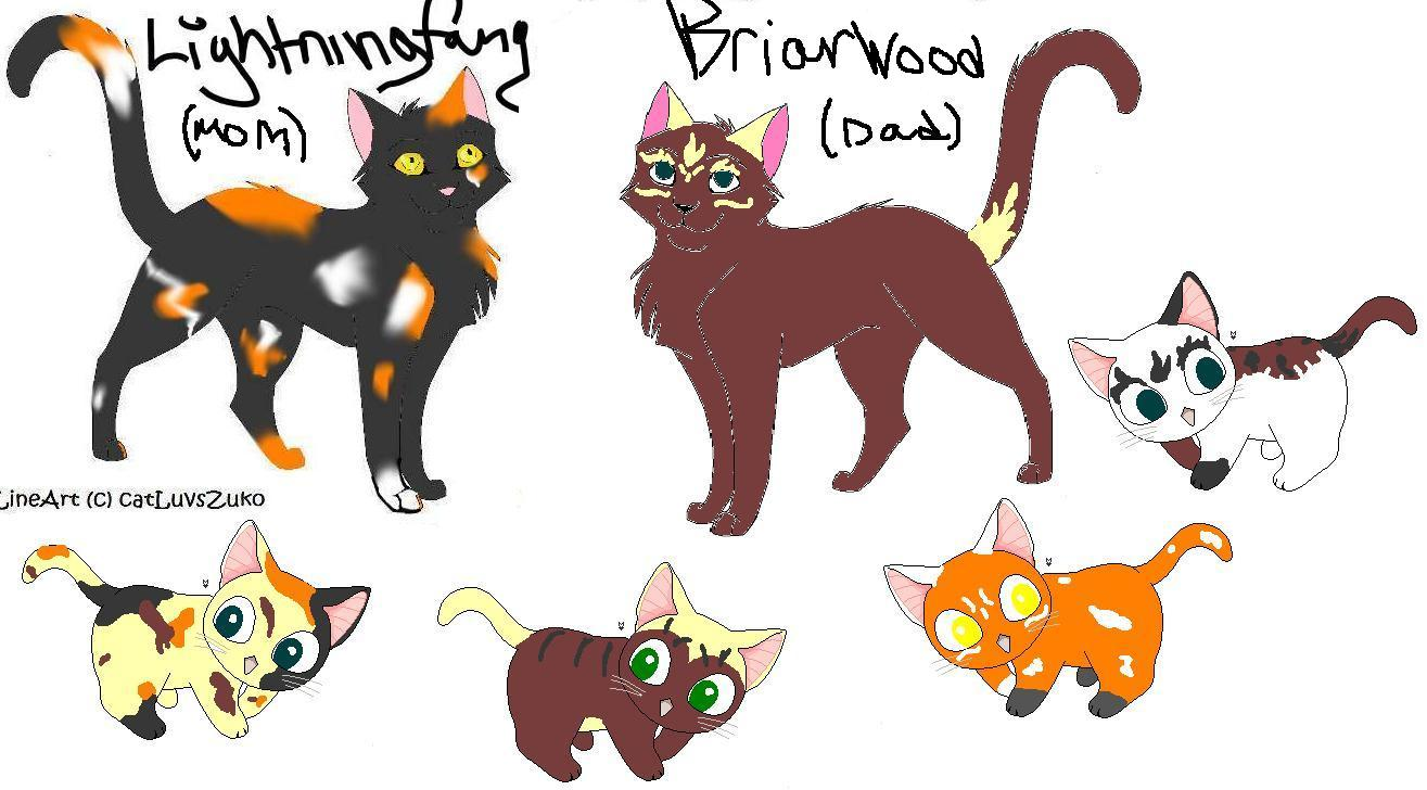 BriarWood and LightningFangs kits by icestorm