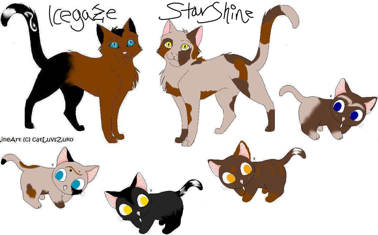 StarShine and Icegazes kits for Hamstar by icestorm