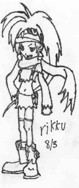 Rikku by idkdotcom