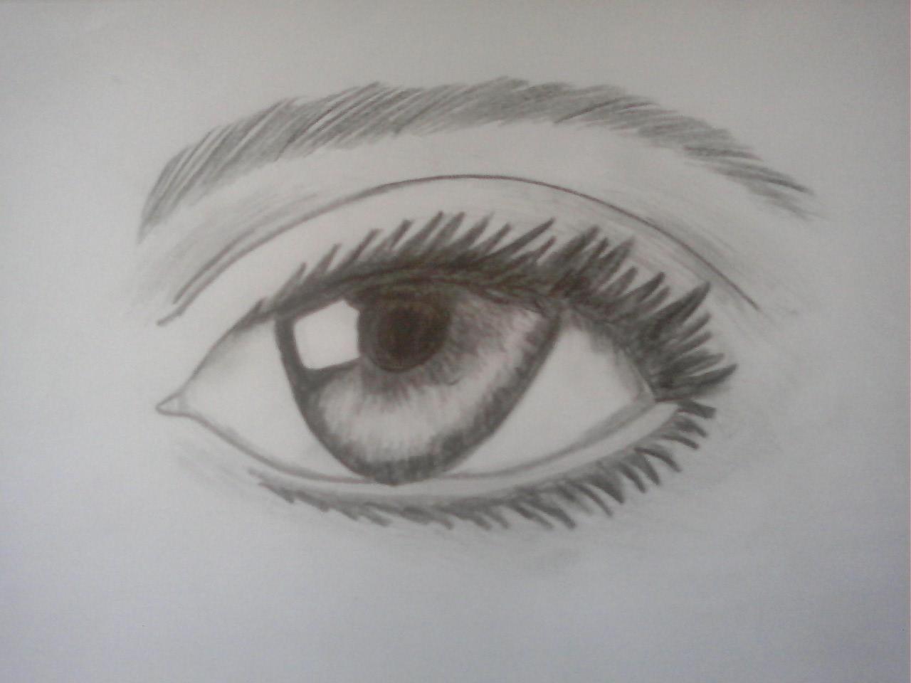 Realistic Eye by idoodle