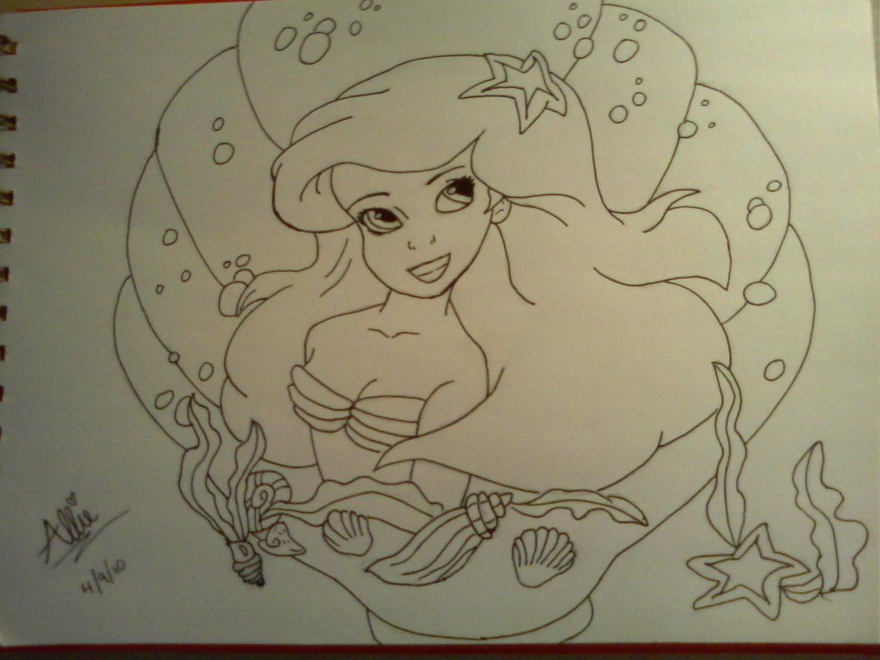 Little Mermaid by idoodle