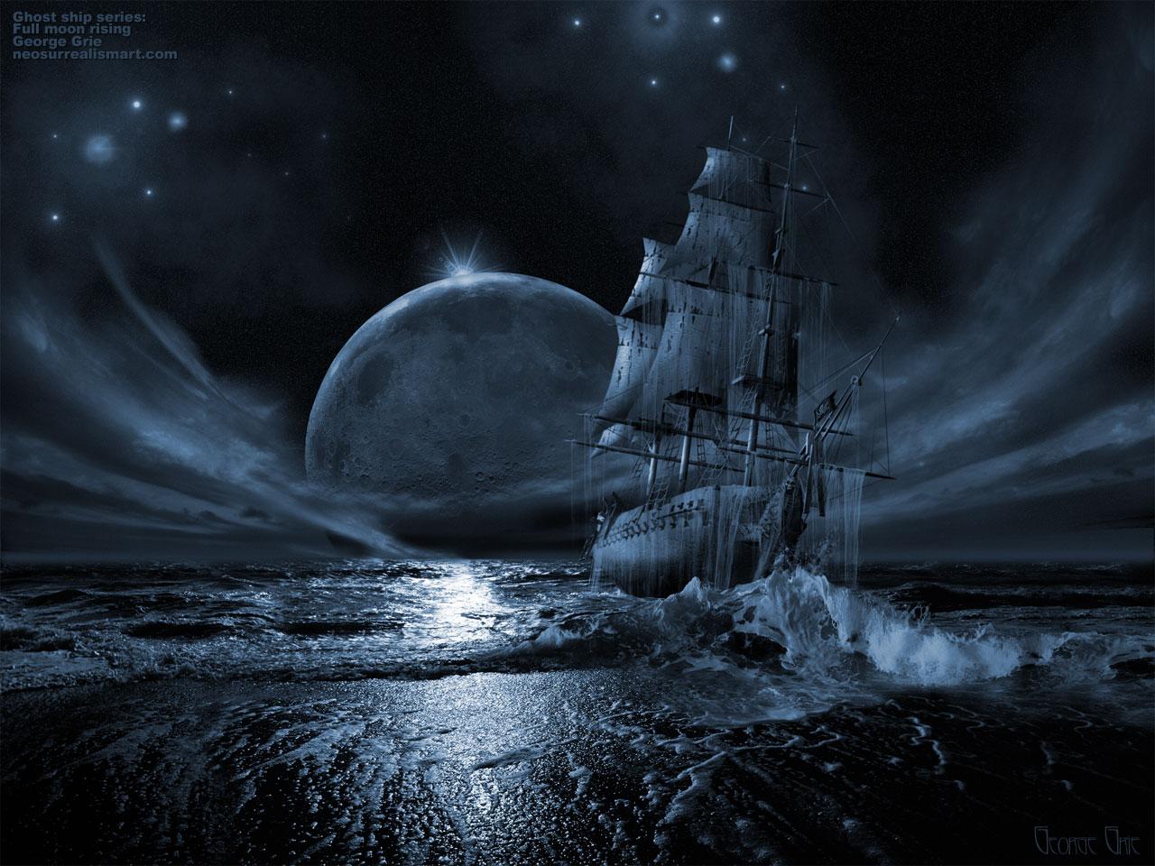 ghost ship by iicici