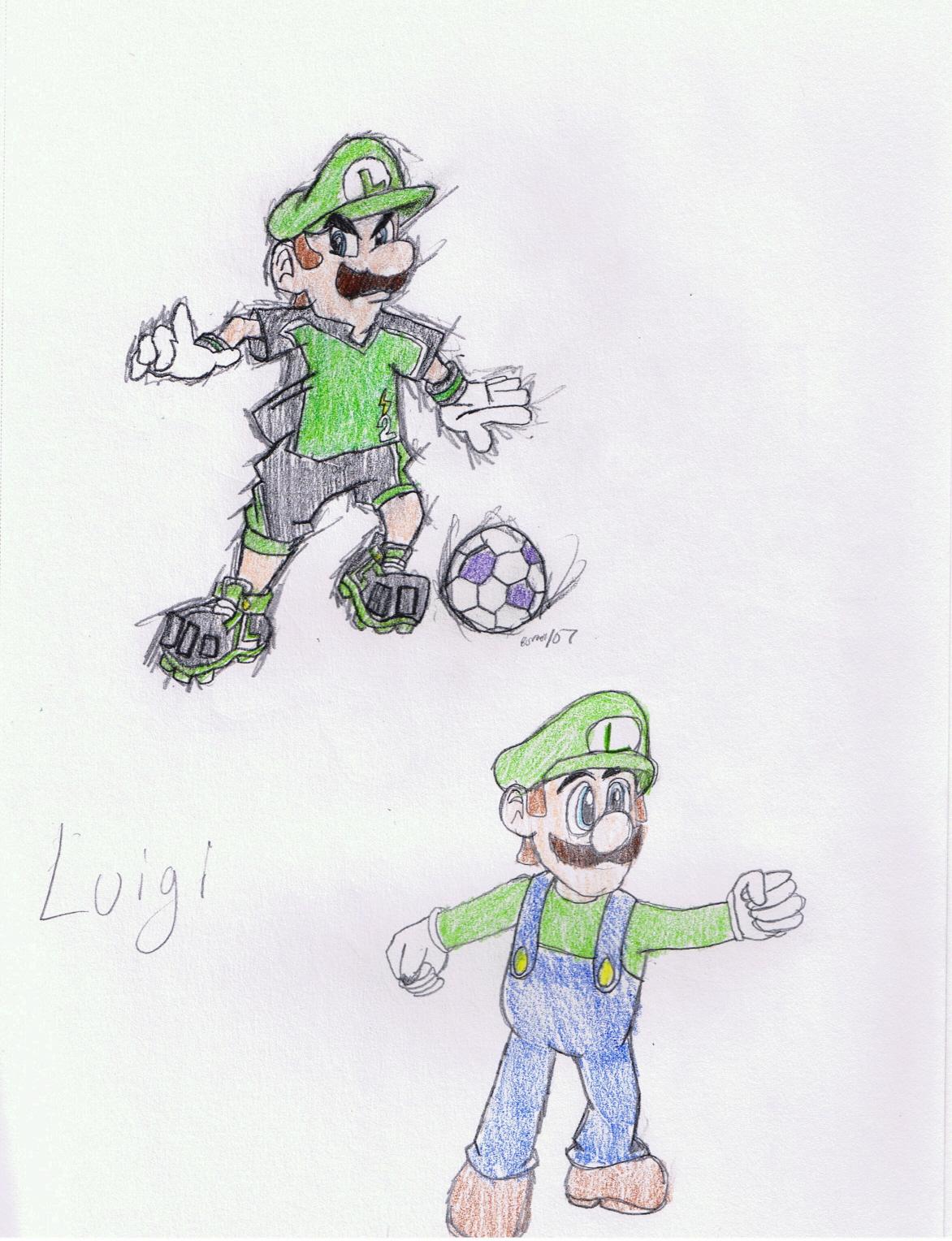 Luigi by iloveanime
