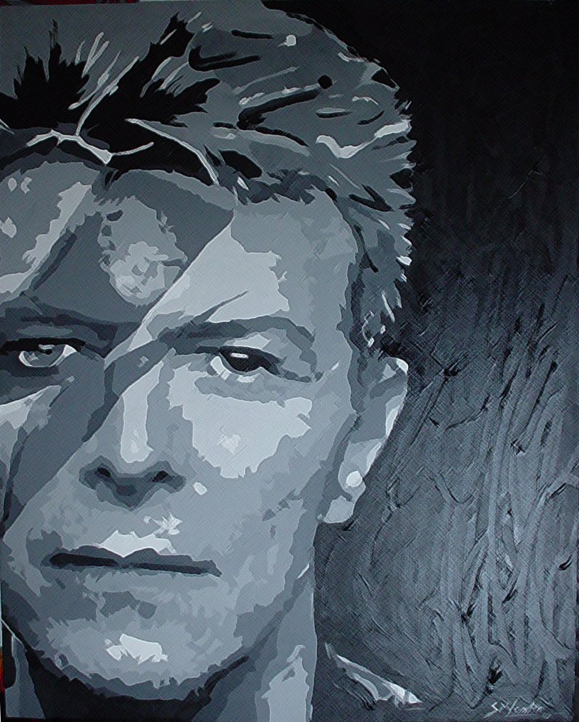 David Bowie by imagery