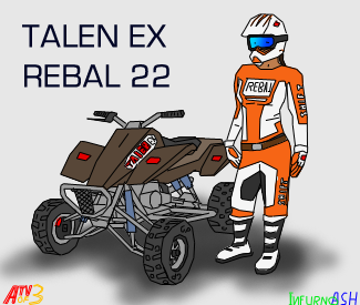 ATV Off Road 3 Race girl by infurno