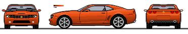 Pixelcarart Camaro 08 by infurno