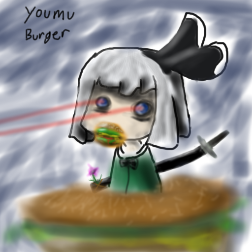 More Youmu Burger by italktowalls