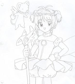card captors girl by ivygaara