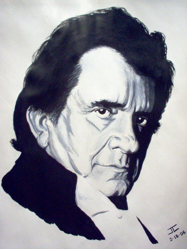 J.R. (Johnny) Cash by JAYCEE