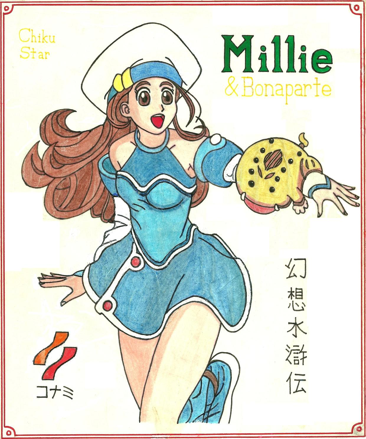 Millie poster by JEMI