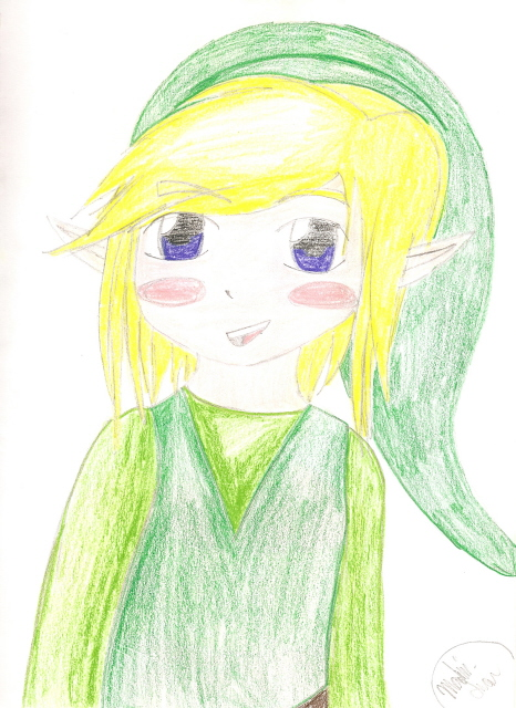 Toon Link by JPopCandy23