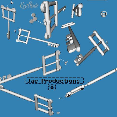 3D Keyblade by Jac_Productions