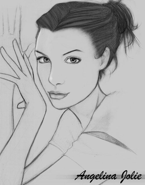 Angelina Jolie by Jack1