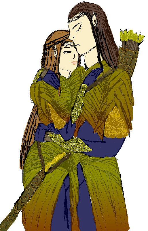The Elfin warriors by JadeBloom1