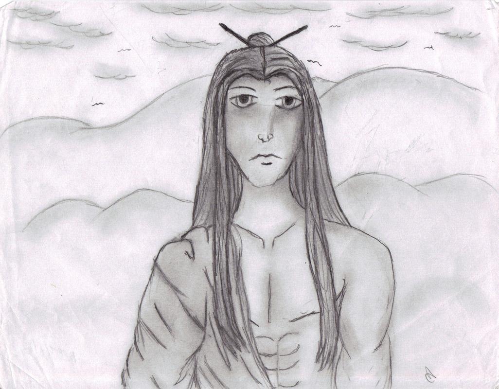Man based off of Rayden by JadeBloom1