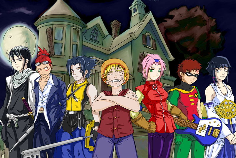Naruto Halloween 2005 by JadeEdge