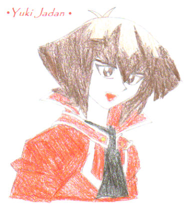 Jaden Yuki (Drawn by Solby colored by me) by JadenLover95