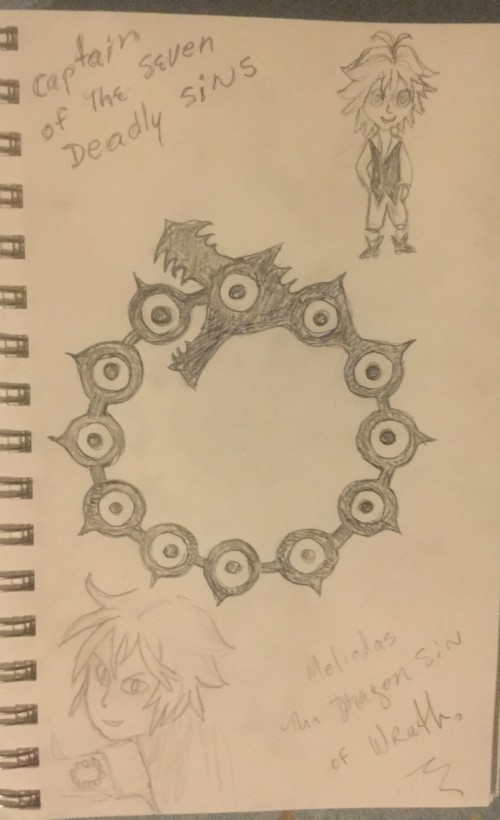Dragon sin of wrath Symbol by Jadis