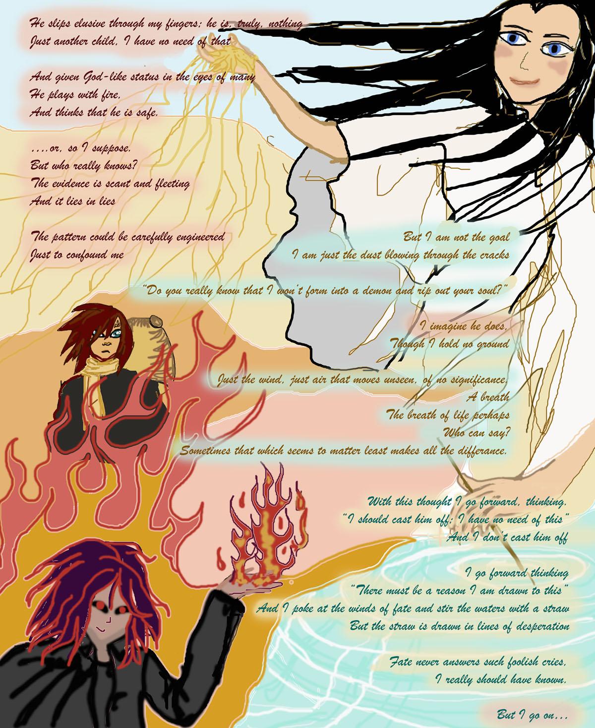fan art/manic poem for Ramy on DA by Jadis