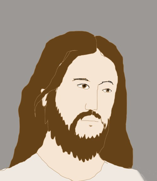 Sad Jesus fan art by Jadis