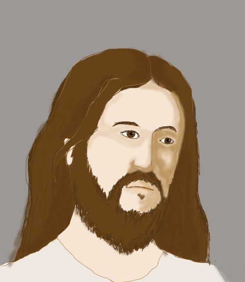 sad jesus WIP 2 by Jadis
