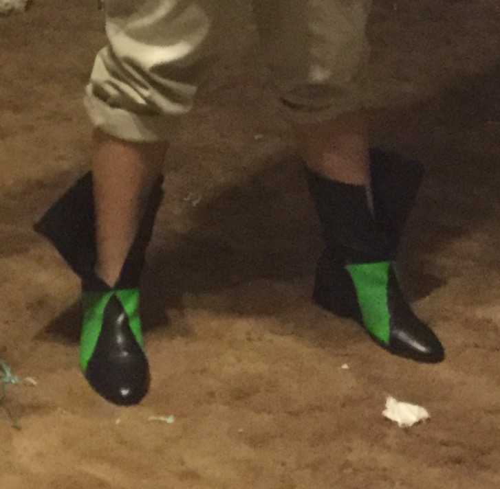 Meliodas's boots for cosplay by Jadis