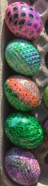 easter dragon eggs by Jadis