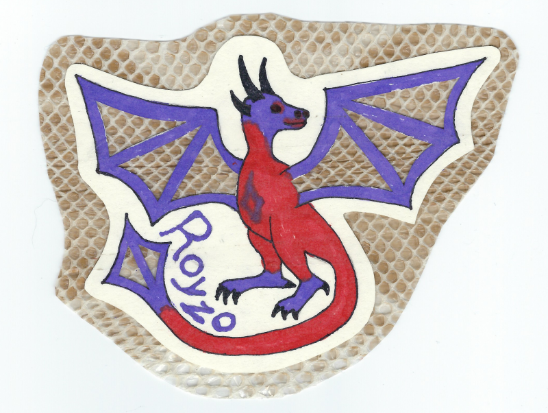 Royzo Dragon badge by Jadis