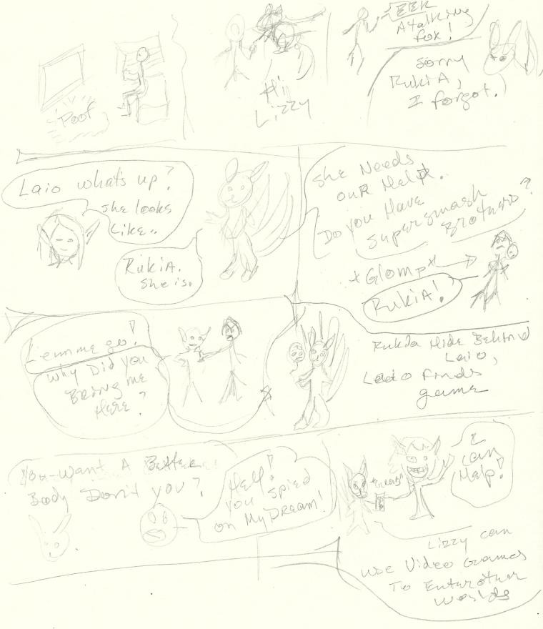 rukia transformation story sketch pg 2 by Jadis