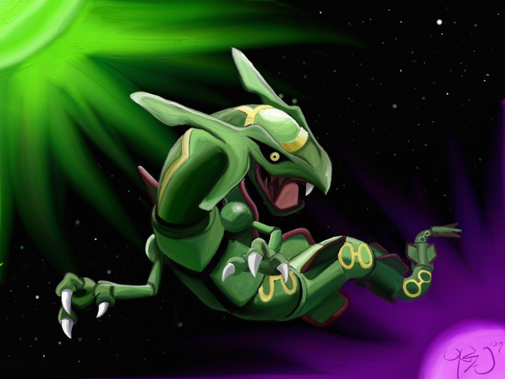 Rayquaza レックウザ♡♡ by JapViking