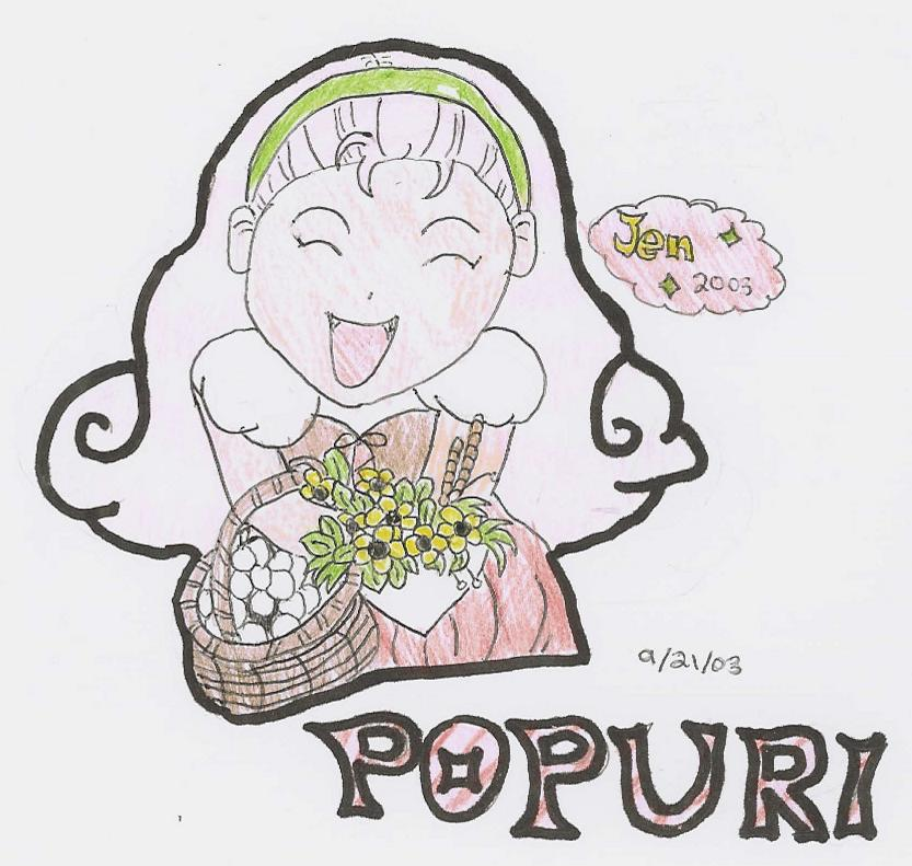 HM- Happy Popuri! (Colored) by Jay_Bird