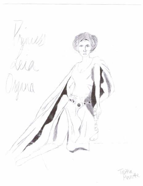Princess Leia by JediMartaHupla