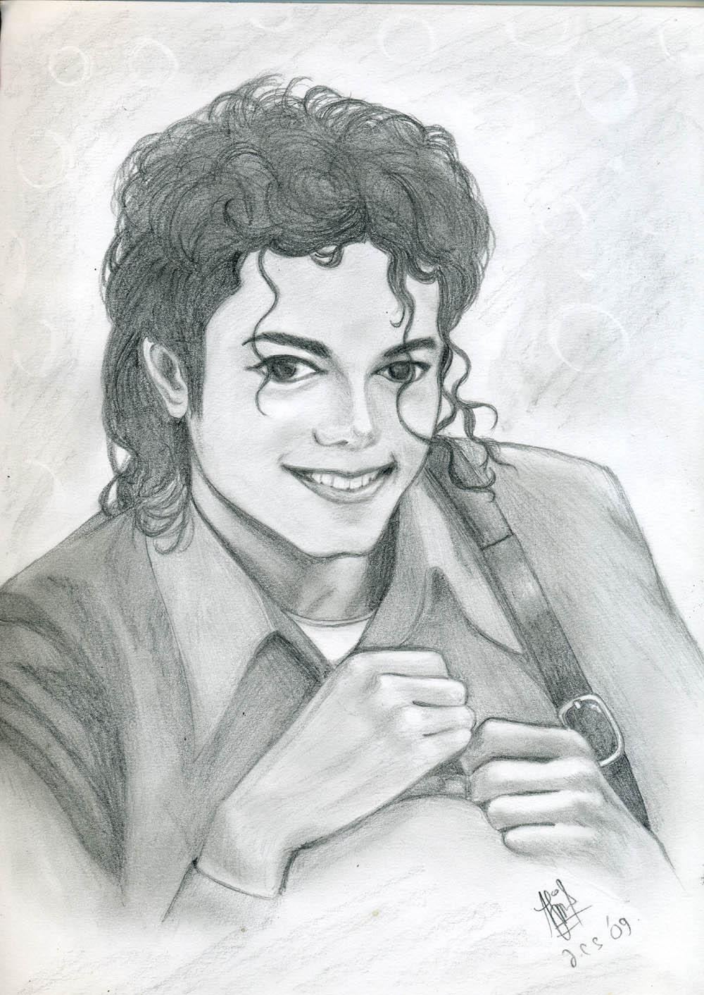 Michael Jackson's smile by JennieLuv