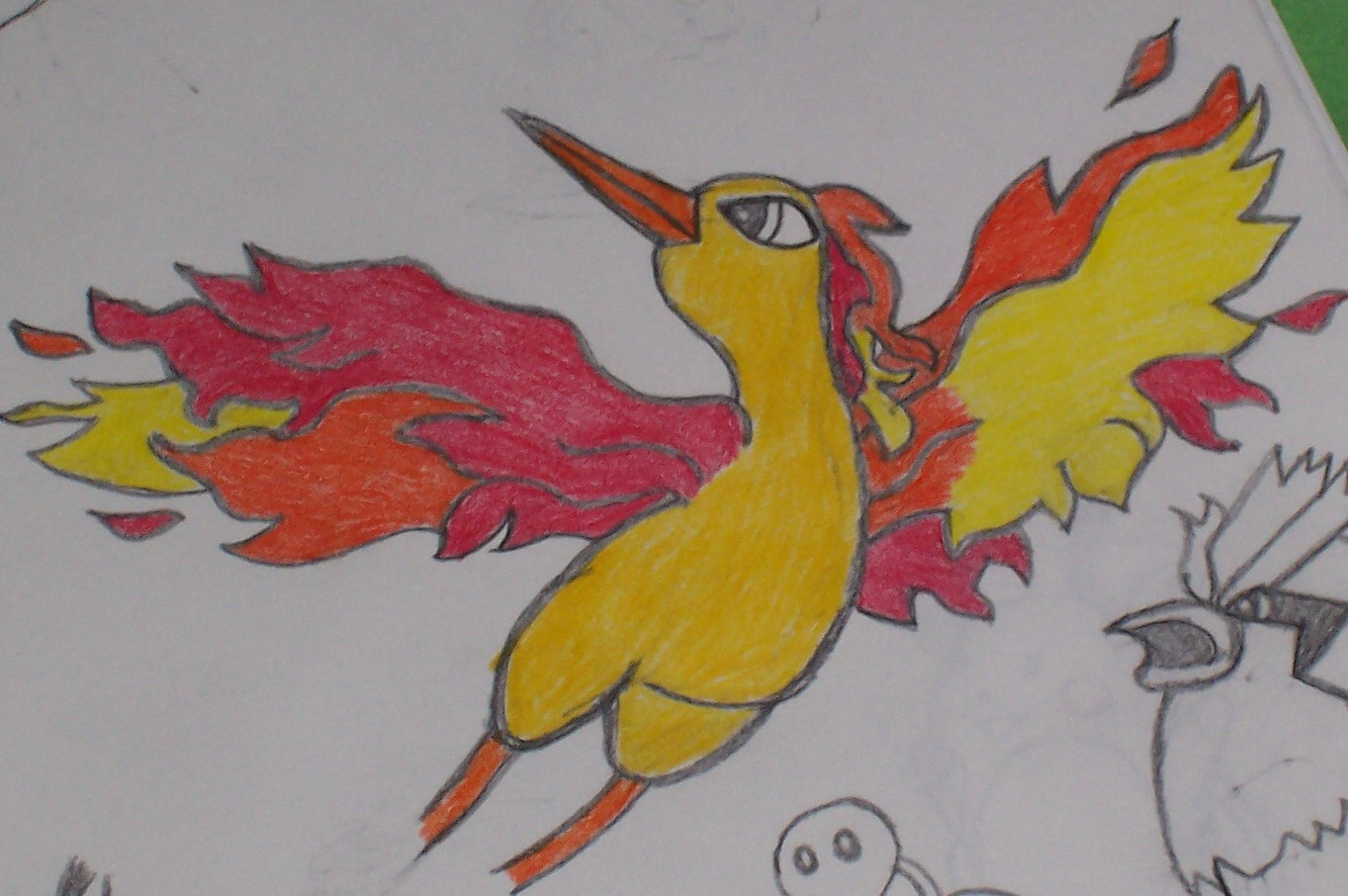 Moltres by JennyTheSpazz