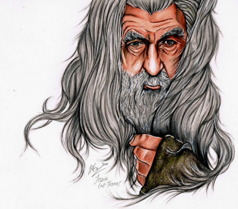 Gandalf The Grey by JessOakenshield