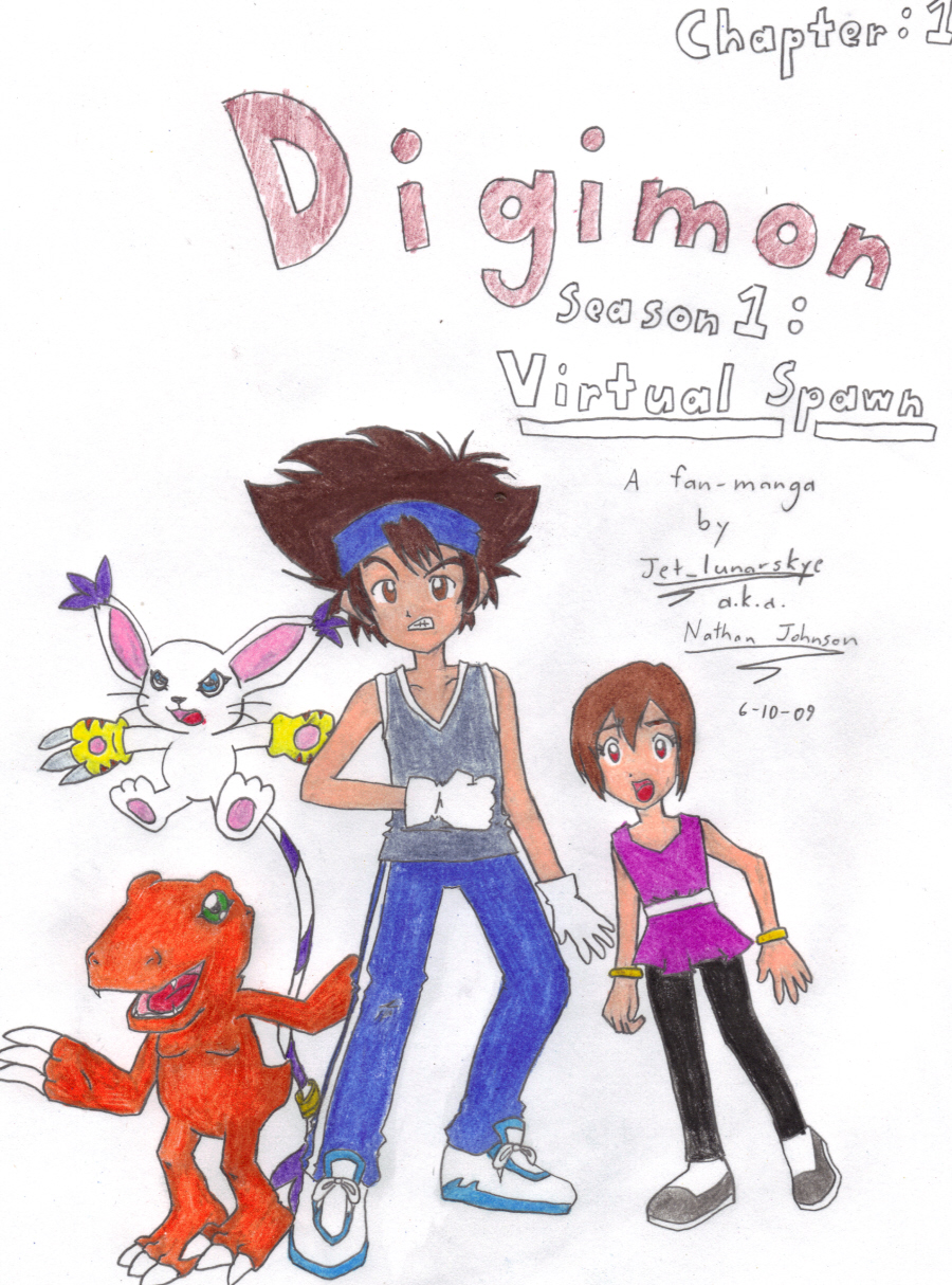 Digimon: Virtual Spawn Manga by Jet_lunarskye