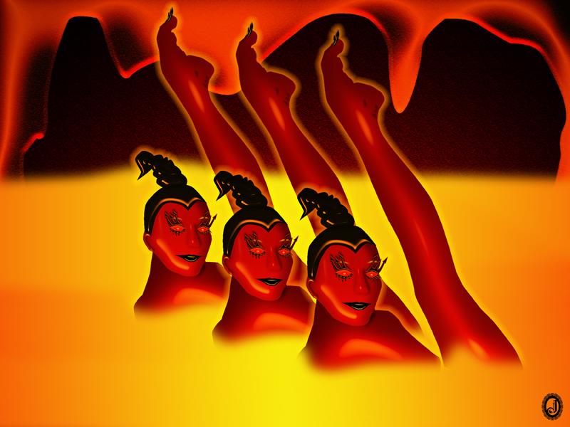 Hellfire Ballet by Jhihmoac