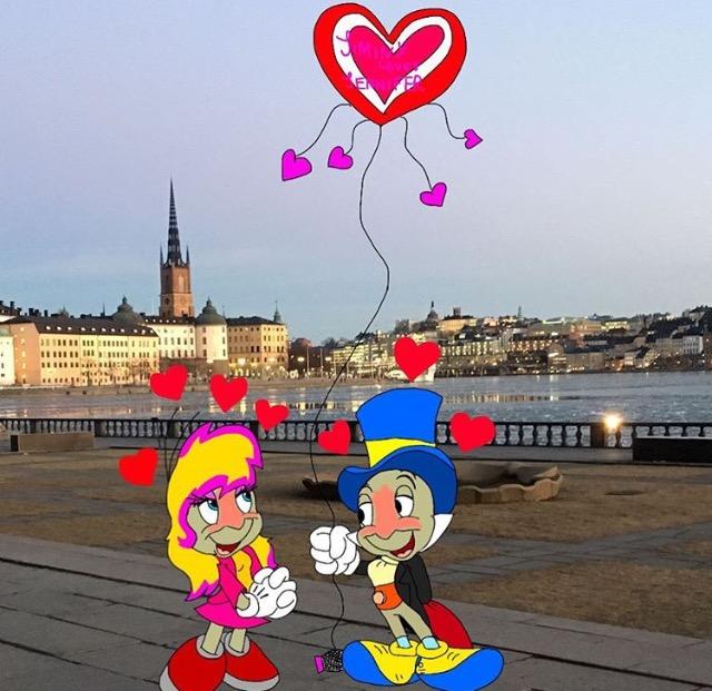 kite of love by JiminyandJennifercricket