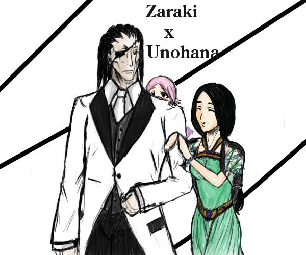 Zaraki x Unohana by Jinshu