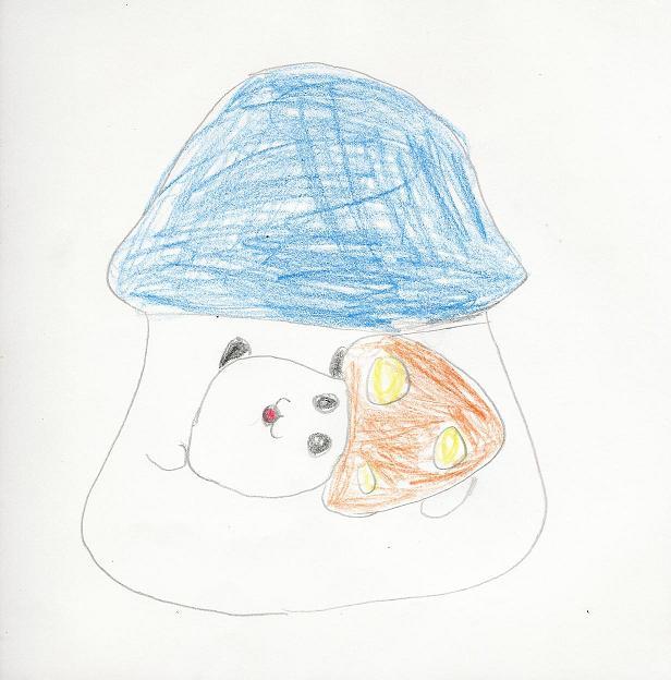 Mushroom Mama and Baby by Jinxers