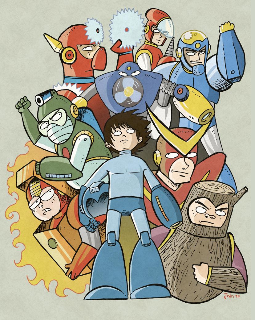 Megaman 2 forever by Jodri