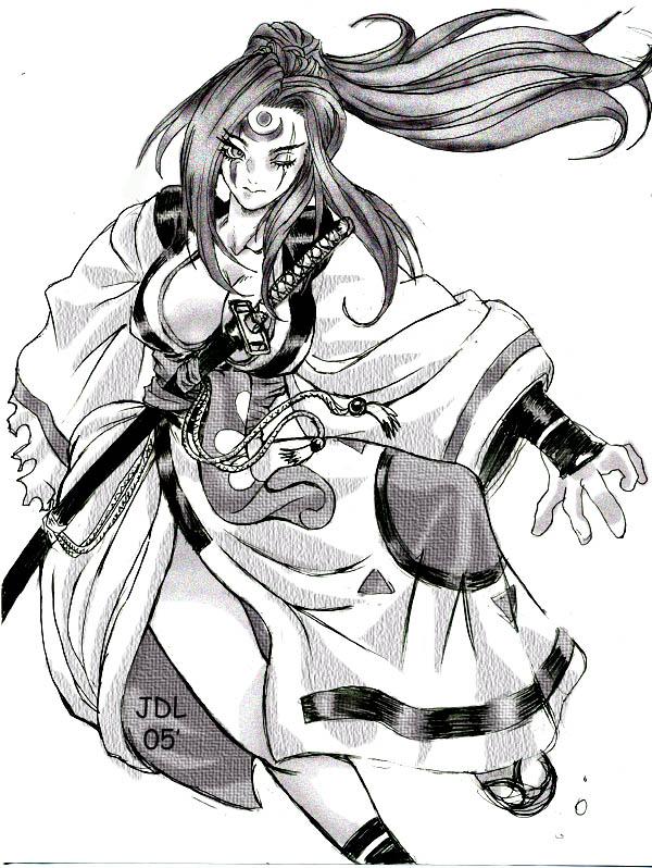 Baiken:Samurai 3 1/2 by John