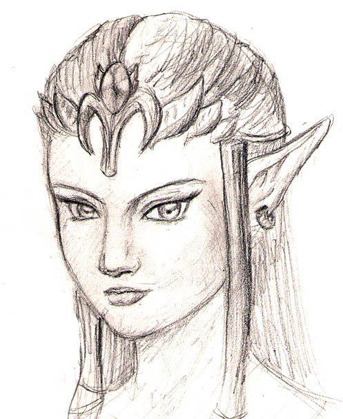 Zelda Sketch by John325