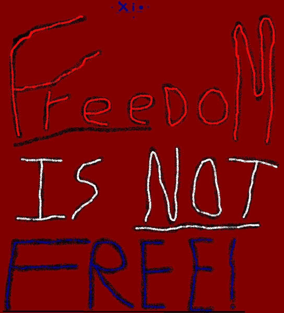 FREEDOM IS NOT FREE by Johnothon