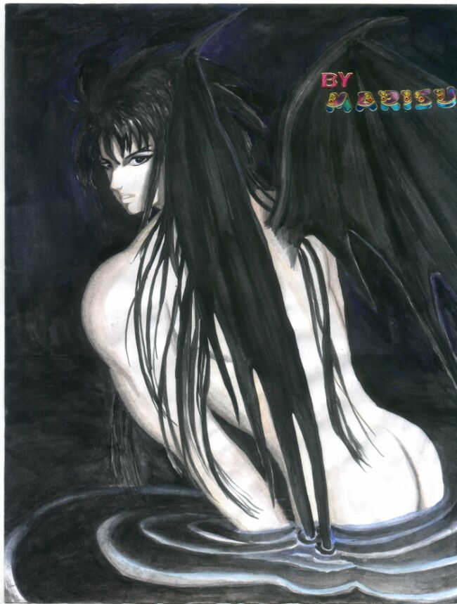 Dark Angel(Aquarius Camus) by Jowy