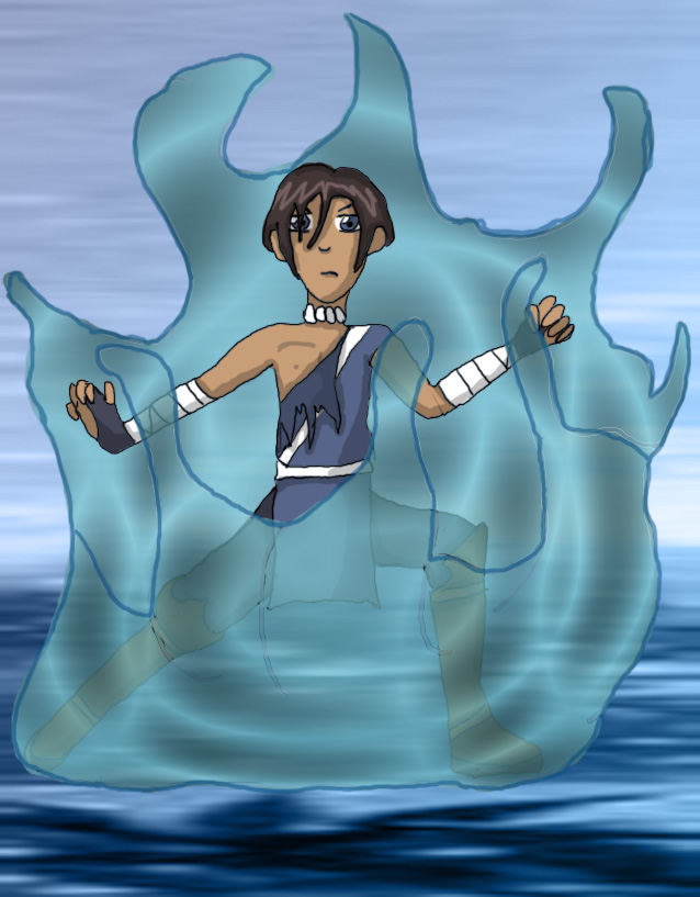 Waterbender Sokka by JoyKaiba
