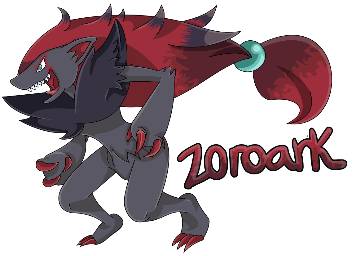 Zoroark by JustSheir