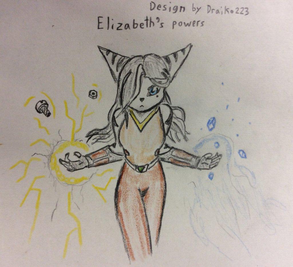 Elizabeth's powers by Justinnator6